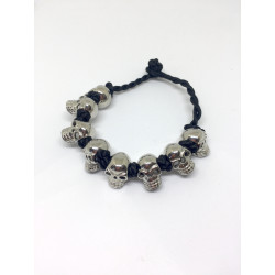 Metal Skull Bracelet